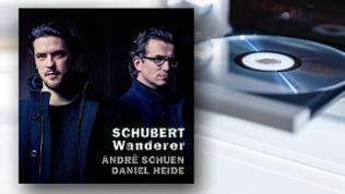 CD-Cover: Schubert Wanderer