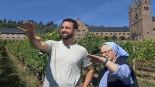 Das Klosterweingut der Benediktinerinnenabtei St. Hildegard ist das einzige in Deutschland, in dem Ordensfrauen aktiv mitarbeiten, erfährt Steffen König.
