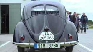 Der älteste Käfer der Welt aus Serienfertigung von 1941, entdeckt in Russland, restauriert in Tschechien.
