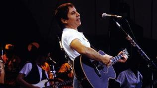 Paul Simon 1989 in Berlin
