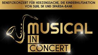 Plakat Musical in Concert