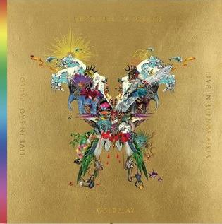 Cover Coldplay Album A Head Full of Dreams, Live in Buenos Aires
