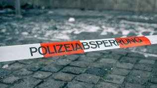 Polizeiabsperrungsband