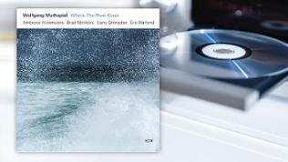 """CD-Cover """"Where the River Goes"""" von Wolfgang Muthspiel"""