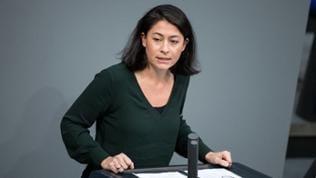 Filiz Polat spricht im Deutschen Bundestag