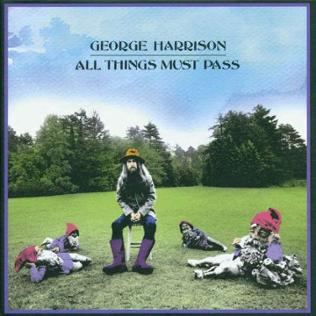 Album-Cover: All Things Must Pass von George Harrison