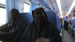 Die beiden Frauen erzählten uns, dass sie bereits zum zehnten Mal mit dem 'Al Dschazira' unterwegs sind.