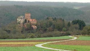 Wie ein Märchenschloss - die Gamburg