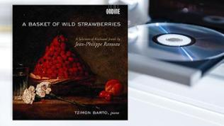 CD-Cover: Tzimon Barto: A Selection of Keyboard Jewels by Jean-Philippe Rameau