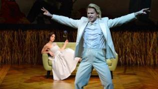 """Joshua Whitener und Amelia Scicolone in """"Orpheus aus der Unterwelt"""""""