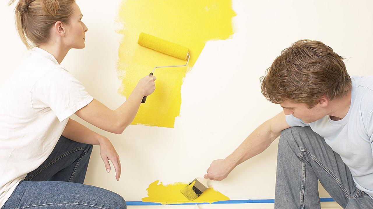 Farbe An Die Wand Richtig Streichen Leben Ard Buffet Swrde