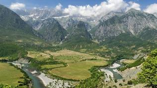 Nemercke-Gebirge, Albanien