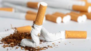 kaputte Zigaretten