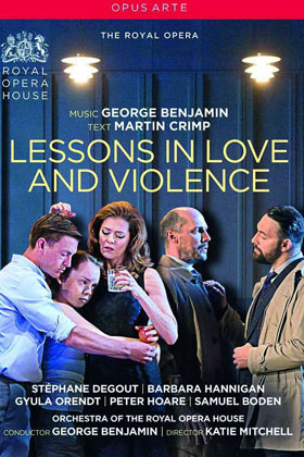 DVD-Cover: George Benjamin und Martin Crimp: Lessons in Love and Violence