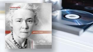CD-Cover: Johanna Senfter: Works for violin: Friedemann Eichhorn und Alexia Eichhorn (Violine), Paul Rivinius (Klavier)
