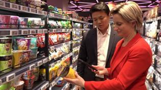 Einkaufen ohne Einkaufswagen - Chinesische Supermärkte haben einen Lieferservice