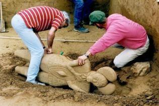 Ausgrabung Fürstengrabhügel Glauberg
