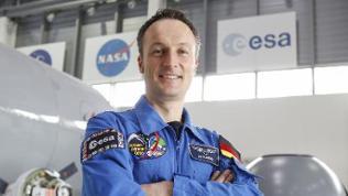 Matthias Maurer, Astronaut, 2016