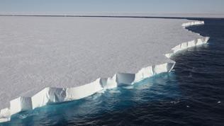 Michel Roggo: Ross Eisschelf in der Antarktis