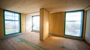 Deutschlands erstes Hochhaus in Holzbauweise
