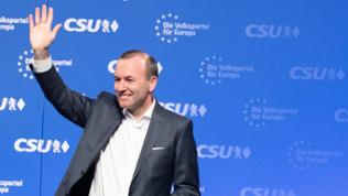 April 6, 2019 - Straubing, Bavaria, Germany - The top candidate of the European Popular Party ( EPP / EVP ) Manfred Weber.