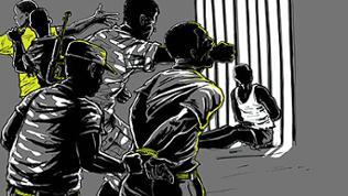 Grafik zu Menschenrechtsverletzungen in Afrika