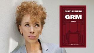 Collage für Facebook zum Buch GRM von Sibylle Berg