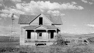 Verlassenes Farmhaus