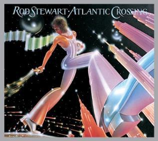 "Plattencover: ""Atlantic Crossing"" von Rod Stewart"