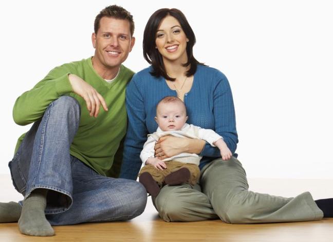 Die moderne Familie ist von der modernen Familie