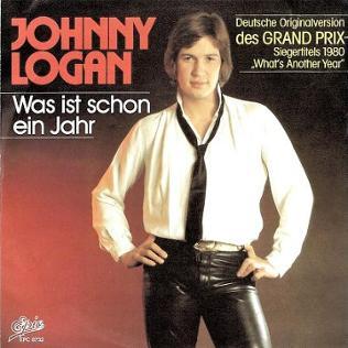 Plattencover Johnny Logan