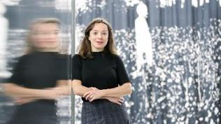 Franciska Zólyom, Kuratorin des Deutschen Pavillons auf der Kunstbiennale Venedig