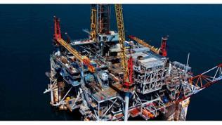 Dieter Blum: Shell Ölplattform, 2009