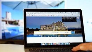 Suche nach einer Ferienwohnung im Internet