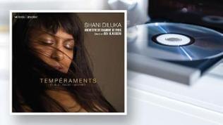 CD-Cover: Shani Diluka - Temperaments