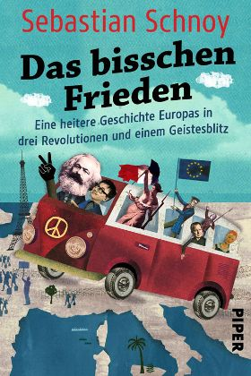Buchcover Das bisschen Frieden von Sebastian Schnoy