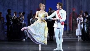 "Veronika Verterich und Friedemann Vogel in ""Mayerling"""
