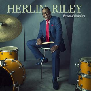 CD-Cover von Herlin Riley - Perpetual Optimism