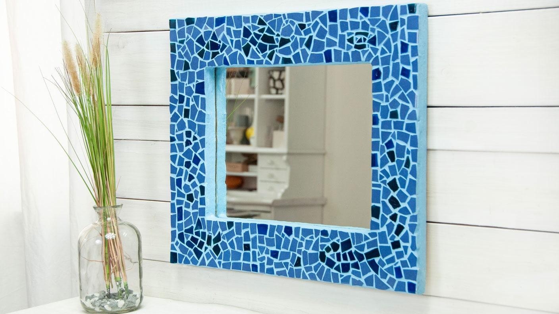 Selbermachen Mosaik Rahmen Fur Spiegel Kreativ Ard