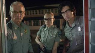 Officer Cliff Robertson (Bill Murray), Officer Minerva Morrison (Chloë Sevigny) und Officer Ronald Peterson (Adam Driver)