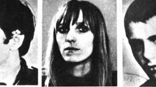 Gudrun Ensslin (undatiertes Fahndungsfoto)