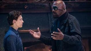 Samuel L. Jackson als Nick Fury in Spider-Man