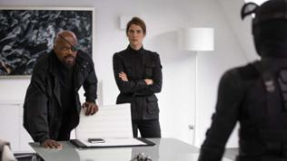 How i met your Mother Star Colbie Smulders in Spiderman.