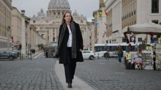 Doris Reisinger in Rom