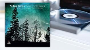 CD-Cover von Anders Jormin - Poems for Orchestra
