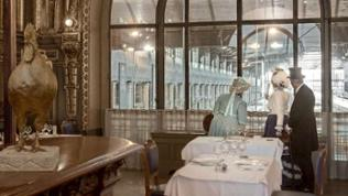 "Restaurant ""Train Bleu"" im Gare de Lyon"
