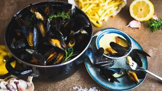 Moules a curry - Muscheln
