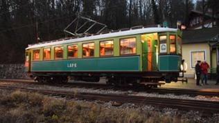 Dezember (Kalender 2020): Dezemberabend auf der Höllentalbahn, Folge 348