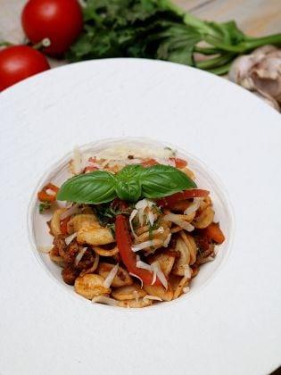 Orecchiette mit Sauce Bolognese
