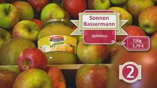 Apfelmus Sonnen Bassermann